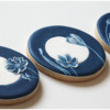 Final China-Inspired Brush Embroidery Cookies: Cookies and Photo by Aproned Artist