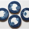 Final China-Inspired Brush Embroidery Set: Cookies and Photo by Aproned Artist
