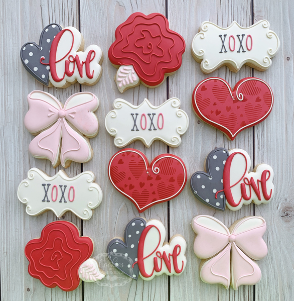 #6 - Valentine's Day by Cookies on Cambridge
