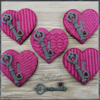 #9 - Knit Valentine's Hearts: By swissophie