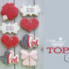 Top 10 Cookies Banner - January 25, 2020: Cookies and Photo by Cookies on Cambridge; Graphic Design by Julia M Usher