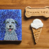 A Sentimental Gift for an Irish Wolfhound Breeder