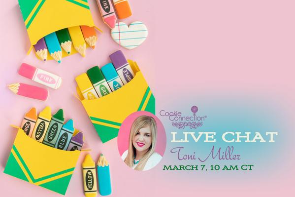 Live Chat Banner - Toni Miller
