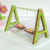 3-D Two-Seater Spring Swing Cookie: Design, 3-D Cookie, and Photo by Manu