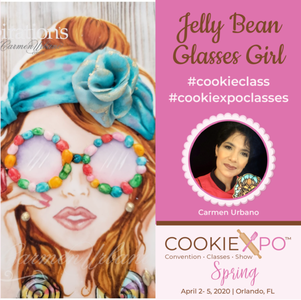 Jelly Bean Glasses Girl | Carmen Urbano