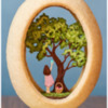 Final Panoramic Easter Cookie: 3-D Cookie and Photo by Aproned Artist