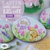 Easter Stencil Sale Banner: Cookies and Photo by Julia M Usher; Graphic Design by Confection Couture Stencils