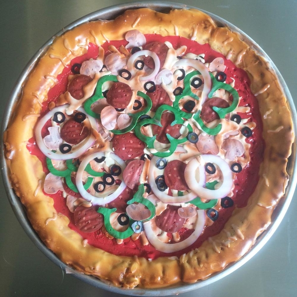 Life Size Pizza Cookie - KellyMadeThat
