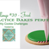 Practice Bakes Perfect Challenge #39 Banner: Photo by Steve Adams; Logo Courtesy of Sweet Prodigy; Cookie and Graphic Design by Julia M Usher