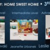 Home Sweet Home - Third Place Judged: Slide Courtesy of CookieCon