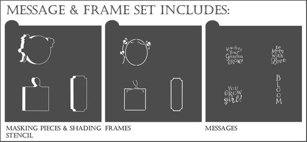 message and frame set border