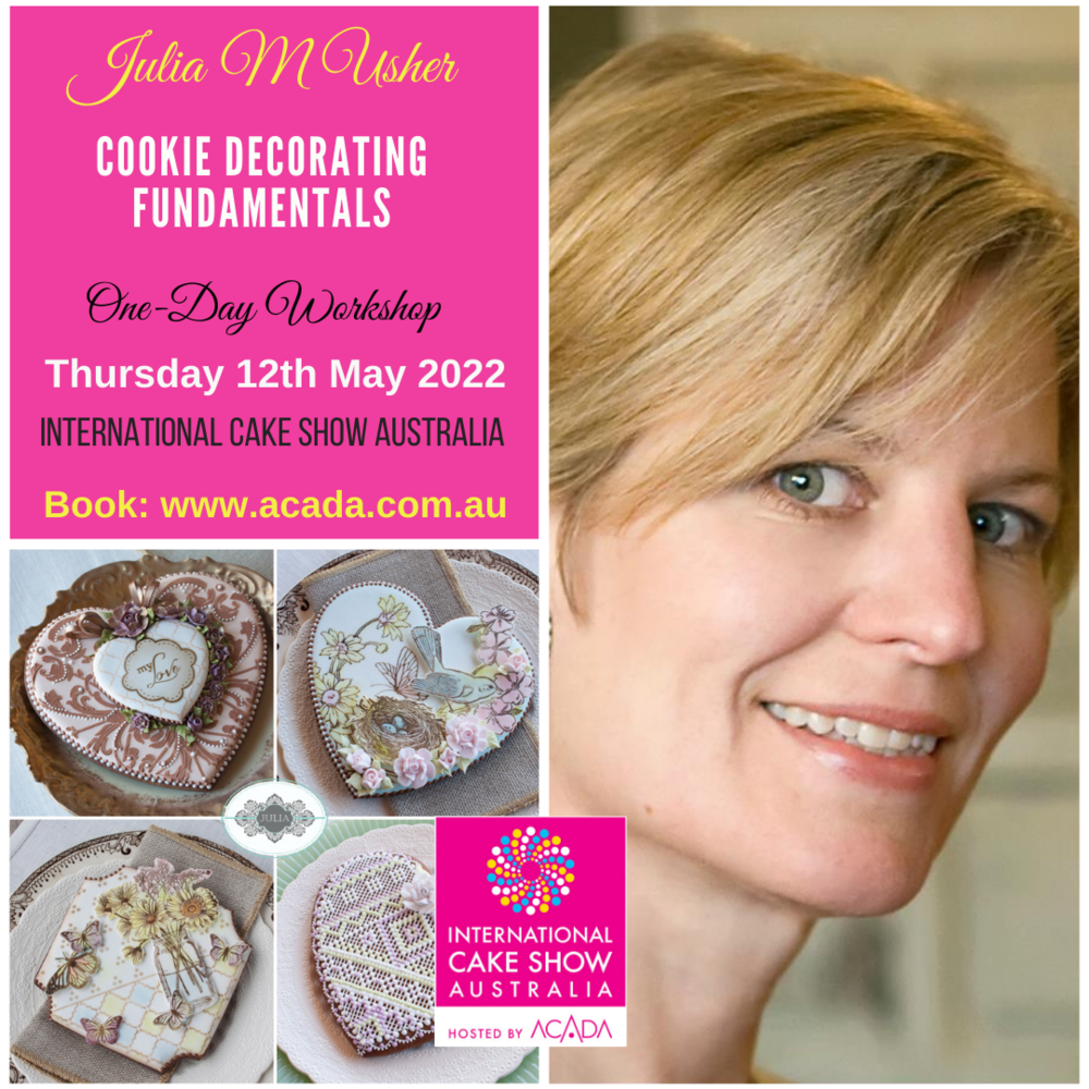 Cookie Fundamentals with Julia M Usher in Australia