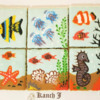 Aquarium Puzzle Using Aquafaba-Based Royal Icing: Cookies and Photo by Kanch J