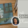 Cookier Closeup Banner for Kanch J: Cookie and Photos by Kanch J; Graphic Design by Julia M Usher