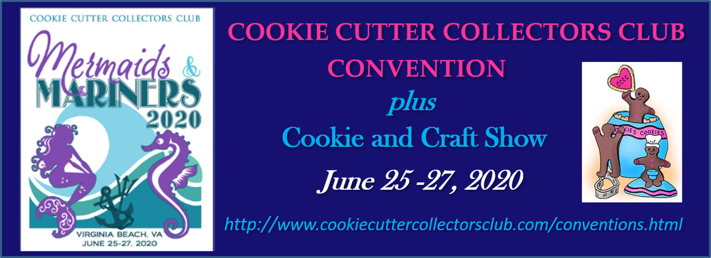 Julia at Cookie Cutter Collectors Club Convention