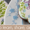 April 2020 Site Banner: Cookies and Photo by Julia M Usher; Graphic Design by Pretty Sweet Designs