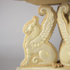 Griffin Tripod Pedestal: 3-D Cookie and Photo by Laura Saporiti