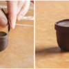 Step 1c - Add Trim to Flowerpot: Photos by Aproned Artist