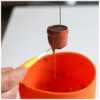 Step 1d - Dip Flowerpot in Icing: Photos by Aproned Artist