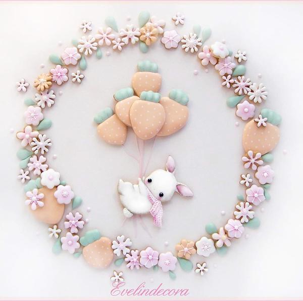 #1 - Bunny Cookie Scene by Evelindecora