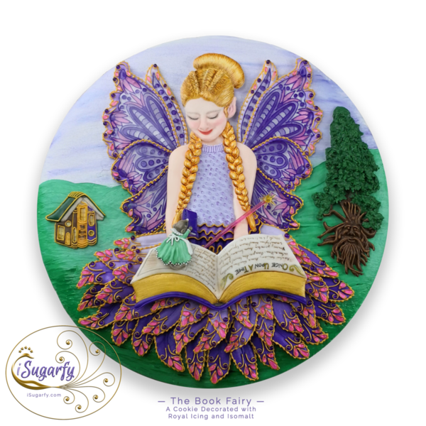 #10 - The Book Fairy by iSugarfy (aka swissophie)