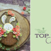 Top 10 Cookies Banner - April 11, 2020: Cookies and Photo by Vanilla & Me; Graphic Design by Julia M Usher