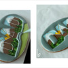 """Steps 5a and 5b - Flood """"Frame"""" and Insides of Letters: Design, Cookie, and Photos by Manu"""