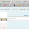 Screenshot of Advanced Search Area