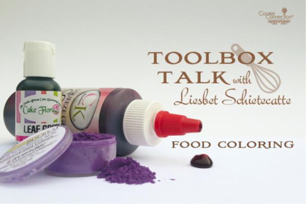 #10 - Toolbox Talk - Food Coloring by Liesbet
