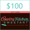 $100 Country Kitchen SweetArt Gift Card: Graphic Courtesy of Country Kitchen SweetArt