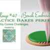 Practice Bakes Perfect Challenge #40 Banner: Photo by Steve Adams; Logo Courtesy of Sweet Prodigy; Graphic Design by Julia M Usher