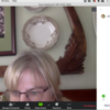 """Reactions and Hand-Raising Feature at Bottom of """"Participants"""" Pane: Screenshot of Zoom on Julia's Laptop"""