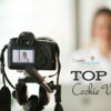 Top 10 Cookie Videos Banner: Image from Shutterstock; Graphic Design by Julia M Usher