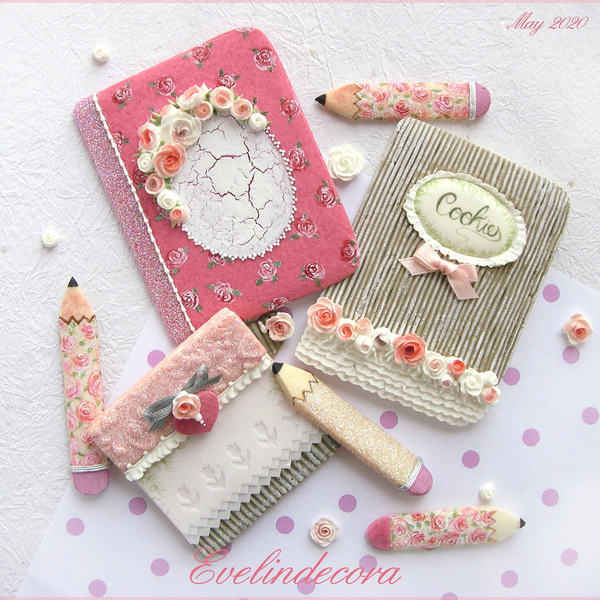 #1 - Stationery Cookies by Evelindecora