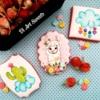 #4 - Llama and Cactus Set!: By Di Art Sweets