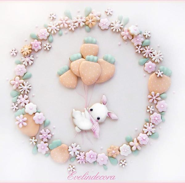 #6 - Bunny Cookie Scene by Evelindecora