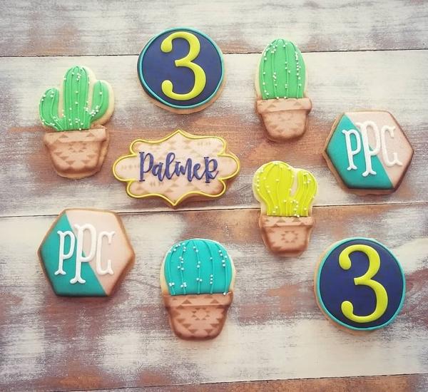 #10 - Cactus Cookies by Lisa Marie Loosier