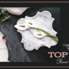 Top 10 Flower Cookies Banner: Cookie and Photo by salon de Masyu; Graphic Design by Julia M Usher