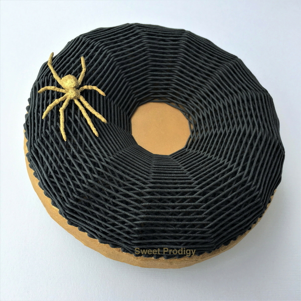 Gold Spider on a Black Web III - Sweet Prodigy