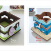 3-D Easter and Summer Cookie Boxes: Design, 3-D Cookies, and Photos by Manu