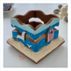 3-D Summer Cookie Box - All Done!: Design, 3-D Cookie, and Photo by Manu