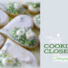 Icingsugarkeks' Cookier Close-up Banner: Cookies and Photo by Icingsugarkeks; Graphic Design by Julia M Usher