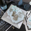 Closing Recap Photo - So Many Design Possibilities!: Cookies and Photo by Julia M Usher; Stencils Designed by Julia M Usher with Confection Couture Stencils; Graphic Design by Julia M Usher