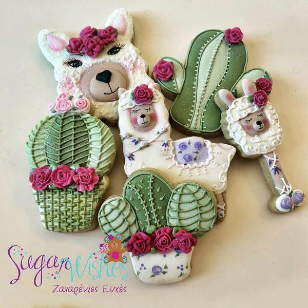 #5 - Llamas and Cacti by Tina at Sugar Wishes