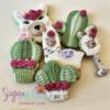 #5 - Llamas and Cacti: By Tina at Sugar Wishes
