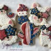 #3 - 4th of July Llama-Themed Cookies: By Tina at Sugar Wishes