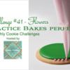 Practice Bakes Perfect Challenge #41 Banner: Photo by Steve Adams; Cookie and Graphic Design by Julia M. Usher; Logo Courtesy of Sweet Prodigy
