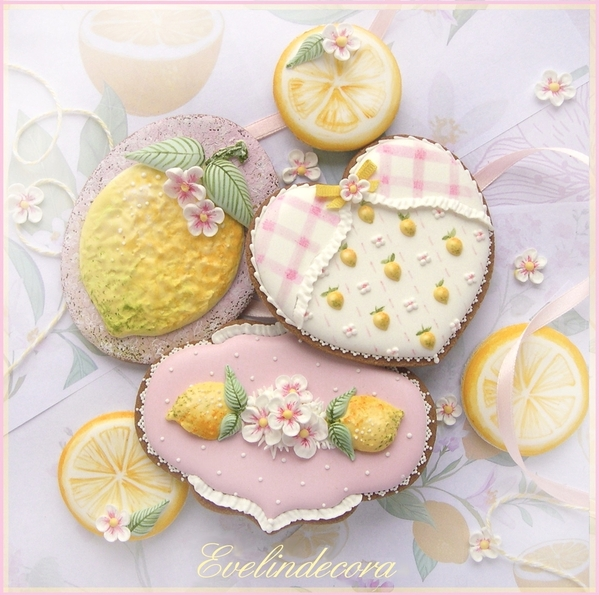 #1 - Lemon Cookies by Evelindecora