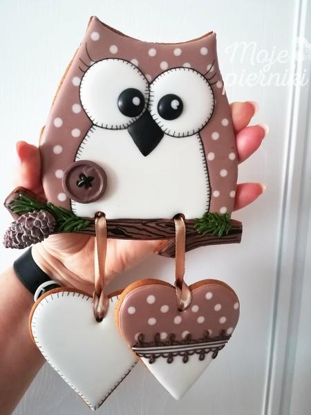 #6 - Owl - The End of School by Ewa Kiszowara MOJE PIERNIKI