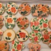 #9 - Baby Shower Floral Cookies: By Nazia
